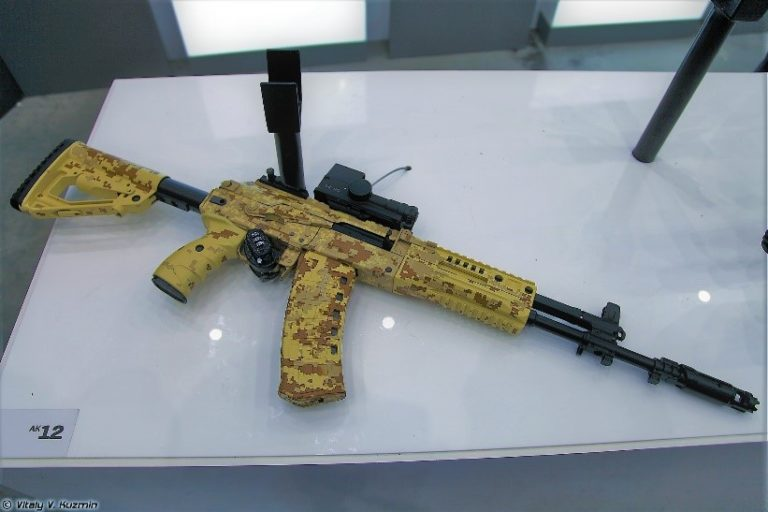 Defense giant continuing to equip Russia's military forces with new assault rifles   HLS